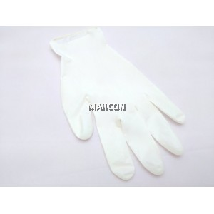 Marcon Rubber Powder Free Latex Exam Gloves (6.0GM)